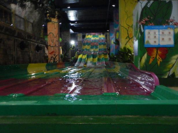 Water park inside a mall in Hanoi, Vietnam