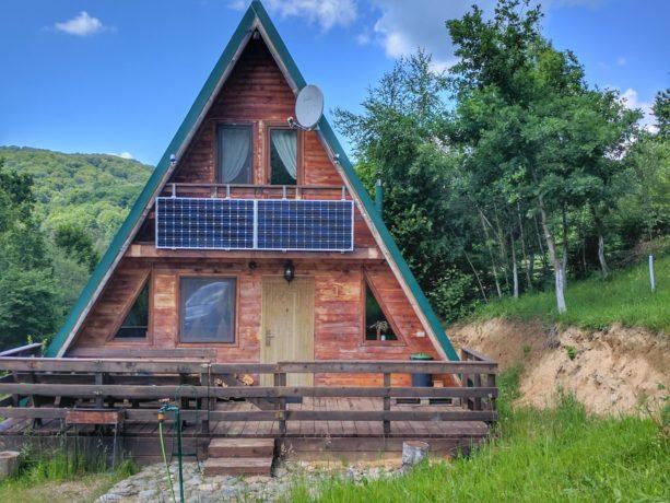 Unique cabins in Transylvania, Romania