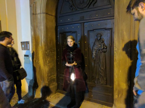 A mysterious Ghosts & Legends Walking Tour in Prague