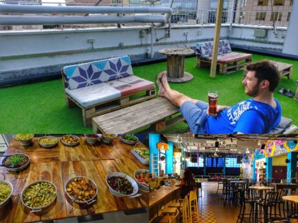 Is the world's best hostel located in the center of Tel Aviv, Israel?