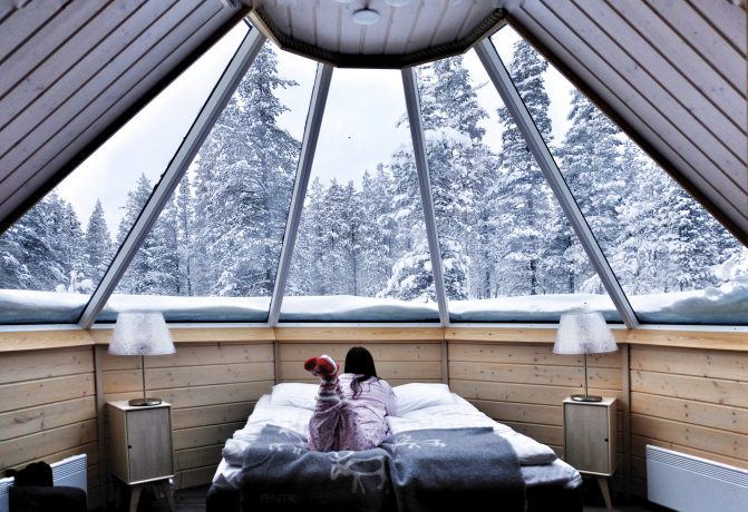 Northern Lights village in Saariselka, Finland, Lapland – A once in a lifetime experience